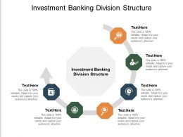 Investment Banking Division Structure Ppt Powerpoint Presentation Ideas Information Cpb