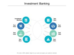 Investment Banking Ppt Powerpoint Presentation Gallery Infographic Template Cpb