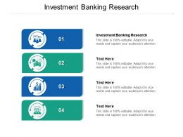 Investment Banking Research Ppt Powerpoint Presentation Styles Slides Cpb