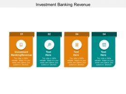 Investment Banking Revenue Ppt Powerpoint Presentation Professional Slide Download Cpb