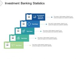 Investment Banking Statistics Ppt Powerpoint Presentation Gallery Objects Cpb
