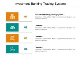 Investment Banking Trading Systems Ppt Powerpoint Presentation File Demonstration Cpb