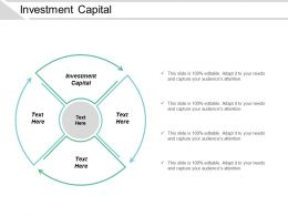 Investment Capital Ppt Powerpoint Presentation Gallery Graphics Design Cpb