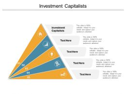 Investment Capitalists Ppt Powerpoint Presentation Layouts Styles Cpb