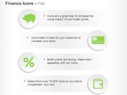 Investment Credit Policy Interest Rate Wallet Ppt Icons Graphics