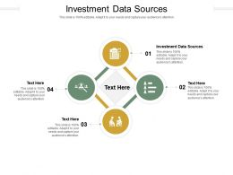 Investment Data Sources Ppt Powerpoint Presentation Ideas Visuals Cpb