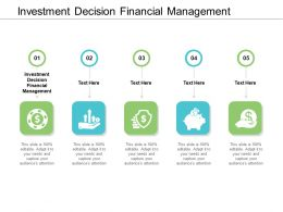 Investment Decision Financial Management Ppt Powerpoint Presentation Gallery Master Slide Cpb