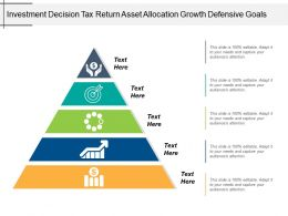 Investment Decision Tax Return Asset Allocation Growth Defensive Goals
