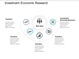 Investment Economic Research Ppt Powerpoint Presentation Model Infographic Cpb