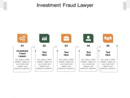 Investment Fraud Lawyer Ppt Powerpoint Presentation Model Templates Cpb