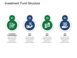 Investment Fund Structure Ppt Powerpoint Presentation Outline Ideas Cpb