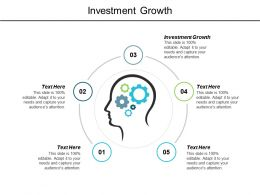 Investment Growth Ppt Powerpoint Presentation Layouts Files Cpb