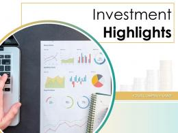 Investment Highlights Growth Arrow Attractive Market Financial Growth Management