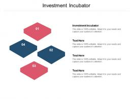 Investment Incubator Ppt Powerpoint Presentation Slides Graphic Tips Cpb