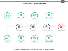 Investment Instruments Real Estate Ppt Powerpoint Presentation Model Themes