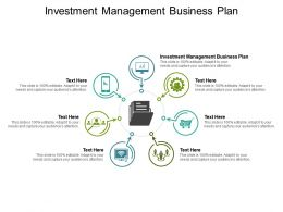 Investment Management Business Plan Ppt Powerpoint Presentation Slides Brochure Cpb