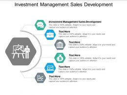 Investment Management Sales Development Ppt Powerpoint Presentation Inspiration Cpb