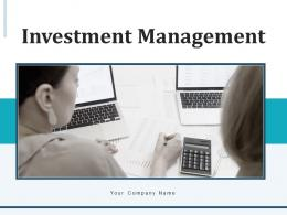 Investment Management Strategies Gear Financial Business Planning Process Performance