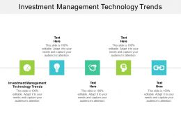 Investment Management Technology Trends Ppt Powerpoint File Deck Cpb