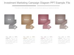 Investment Marketing Campaign Diagram Ppt Example File