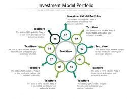 Investment Model Portfolio Ppt Powerpoint Presentation Ideas Graphics Cpb