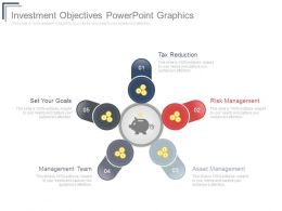 Investment Objectives Powerpoint Graphics