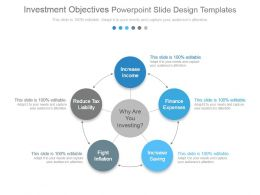 Investment Objectives Powerpoint Slide Design Templates