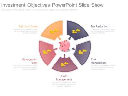 Investment Objectives Powerpoint Slide Show