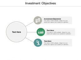 Investment Objectives Ppt Powerpoint Presentation Portfolio Examples Cpb