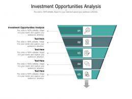 Investment Opportunities Analysis Ppt Powerpoint Presentation Icon Ideas Cpb