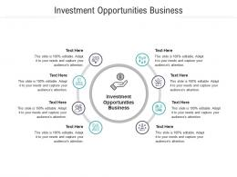 Investment Opportunities Business Ppt Powerpoint Presentation Styles Templates Cpb