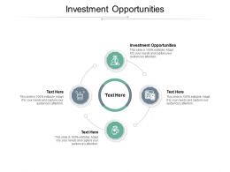 Investment Opportunities Ppt Powerpoint Presentation Slides Pictures Cpb