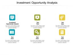 Investment Opportunity Analysis Ppt Powerpoint Presentation Slides Gridlines Cpb
