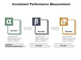 Investment Performance Measurement Ppt Powerpoint Presentation File Slide Cpb