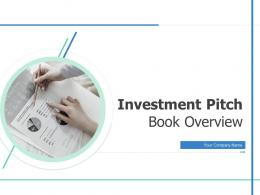 Investment Pitch Book Overview Powerpoint Presentation Slides