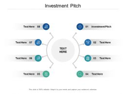 Investment Pitch Ppt Powerpoint Presentation Infographic Template Summary Cpb