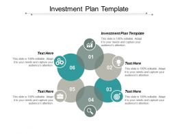 Investment Plan Template Ppt Powerpoint Presentation Portfolio Icon Cpb
