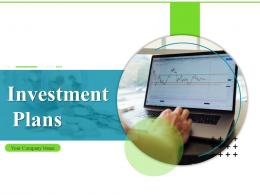 Investment Plans Powerpoint Presentation Slides