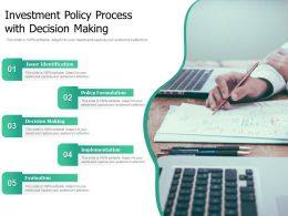 Investment Policy Process With Decision Making