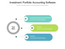 Investment Portfolio Accounting Software Ppt Powerpoint Presentation Infographics Aids Cpb