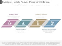 Investment Portfolio Analysis Powerpoint Slide Ideas