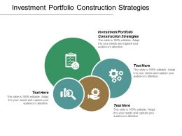 Investment Portfolio Construction Strategies Ppt Powerpoint Presentation Inspiration Ideas Cpb