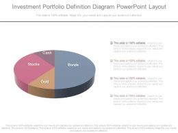 Investment Portfolio Definition Diagram Powerpoint Layout