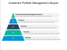 Investment Portfolio Management Lifecycle Ppt Powerpoint Presentation File Rules Cpb