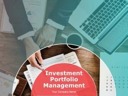 Investment Portfolio Management PowerPoint Presentation Slides