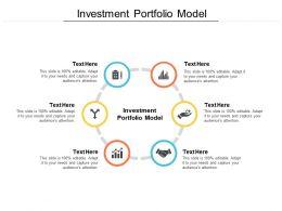 Investment Portfolio Model Ppt Powerpoint Presentation Ideas Deck Cpb