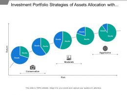 Investment Portfolio Strategies Of Assets Allocation With Risk And Return Analysis