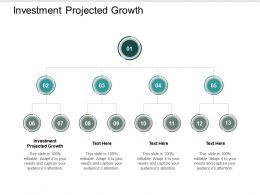 Investment Projected Growth Ppt Powerpoint Presentation Infographic Template Layout Cpb