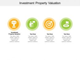 Investment Property Valuation Ppt Powerpoint Presentation Ideas Background Cpb