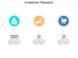 Investment Research Ppt Powerpoint Presentation Styles Structure Cpb